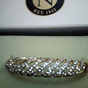Napier Braclet with Gold Crystal Design